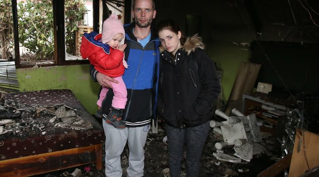 Borsodban bujkálhataz óbudai tüzet okozó család