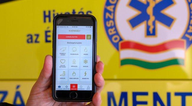 Elindult a mentők munkáját segítő ÉletMentőmobilalkalmazás