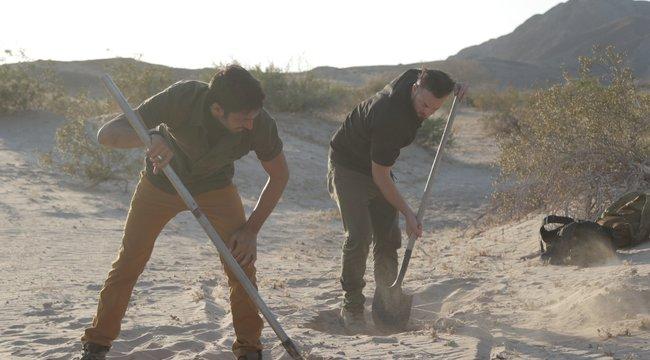 Templomosok kincseit keresi Justin és Emiliano