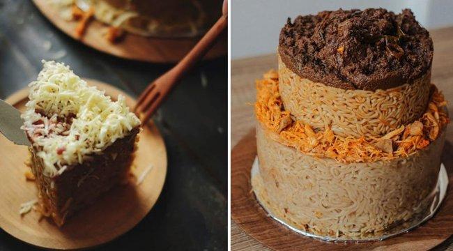 Ön szerint végtelenül bizarr vagy nagyon menő az instant tésztából készült torta?