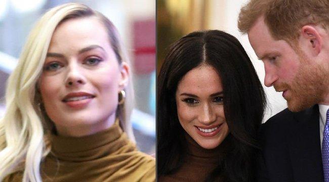 Harry hercegéket támogatja Margot Robbie