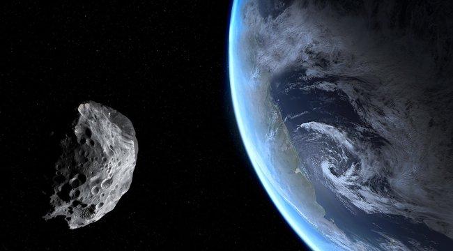 Felénk száguld az aszteroida