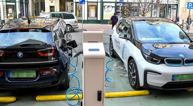 Adókedvezmények és ingyenes parkolás is jár: Itthon is egyre népszerűbb az e-autó