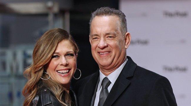 Tom Hanks és neje a karanténból osztott meg egy fotót