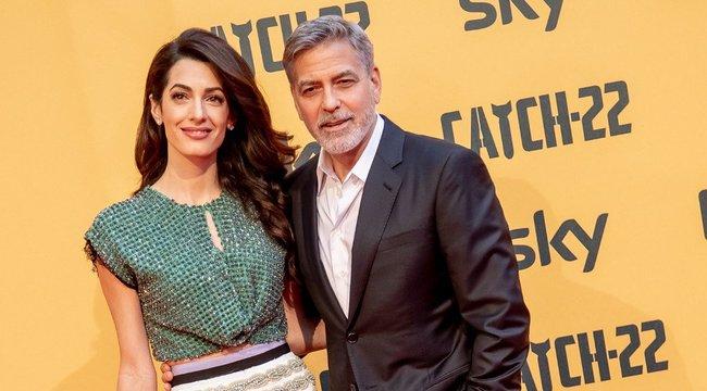 Sokakat kiakasztott Amal Clooney testvére, aki divatos maszkokkal akar pénzt keresni a járvány idején
