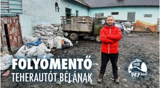Hétköznapi hős – Egy régi UAZ-zal gyűjti a szemetet Béla a Tiszából