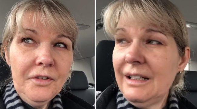 Könnyeivel küszködik az ápoló az élelmiszerbolt üres polcai láttán a 48 órás műszak után - megrázó videó