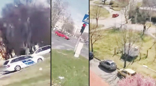 Filmbe illő üldözés: autós hajszát bámult Kecskemét – videó