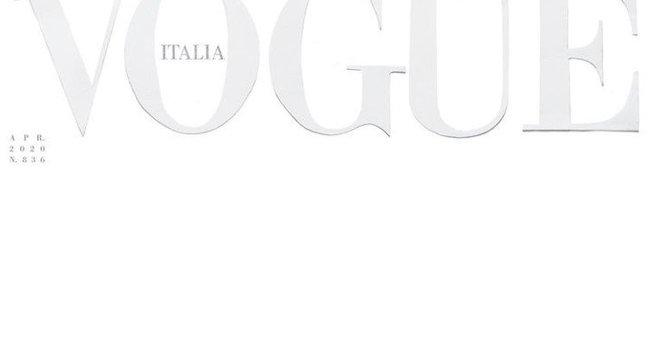 Hófehér címlappal jelenik meg az áprilisi Vogue