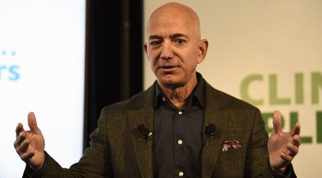 Még a világjárvány alatt is csak gyűlik az Amazon alapítójának vagyona