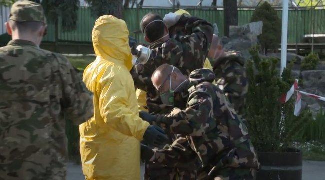 Befejeződött a Pesti úti Idősek Otthona fertőtlenítése – videó