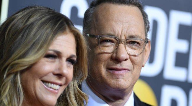 Padlót fogott a koronavírustól Tom Hanksés felesége