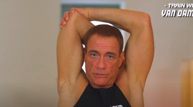 Nincs kivel tornáznia a karantén alatt? Jean-Claude Van Damme hű edzőjelesz az otthoni mozgásban