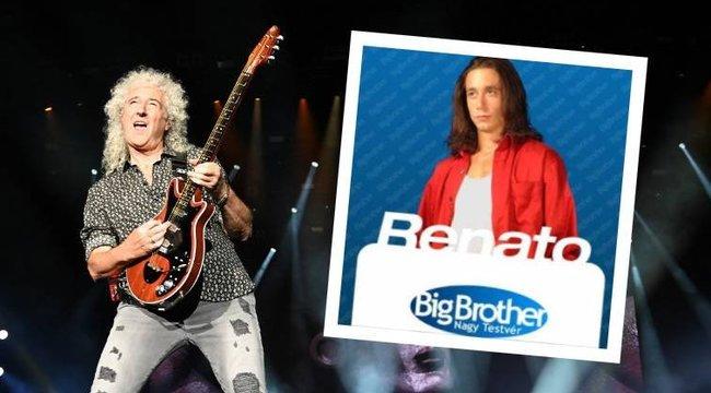Hogy micsoda? Brian May-jel is zenélt a Big Brother Renatója