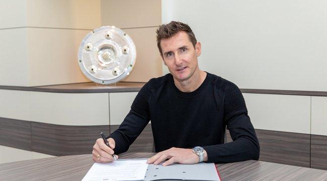Miroslav Klose lett a Bayern München másodedzője