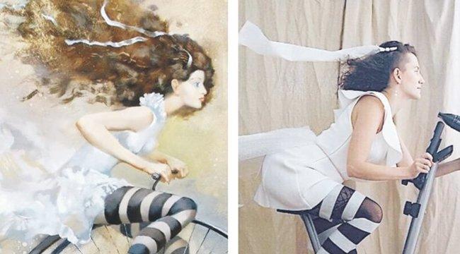 Amikor a karanténban elgurul a gyógyszer – újraalkották a híres festményeket