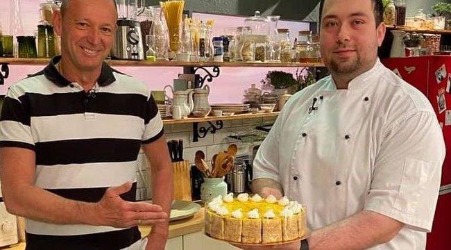 Győrfi Pál imádja a róla elnevezett tortát!