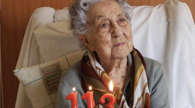 Túlélte a spanyolnáthát, majd113 évesen legyőzte a koronavírust is
