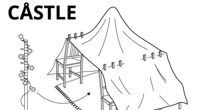 Hatalmasat alkotott az IKEA: Megmutatták, hogyan kell a legtutibb otthoni bunkert megépíteni