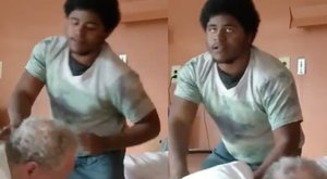 Borzalom az otthonban: bokszzsákként püfölték a 75 éves férfit