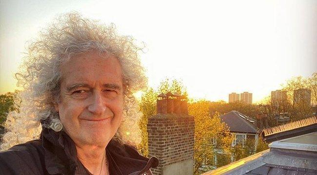 Szívrohamon esett át Brian May, a Queen gitárosa, most otthon lábadozik