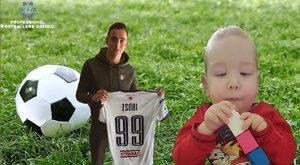 Az SMA-s Tomika és Máté életben maradását segítik a focisták