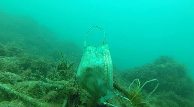 Maszkokkal és gumikesztyűkkel szennyezzük a Földközi-tengert