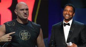 Őrült ötlet: Tyson Fury azt szeretné, hogy Denzel Washington játssza el őt a filmvásznon