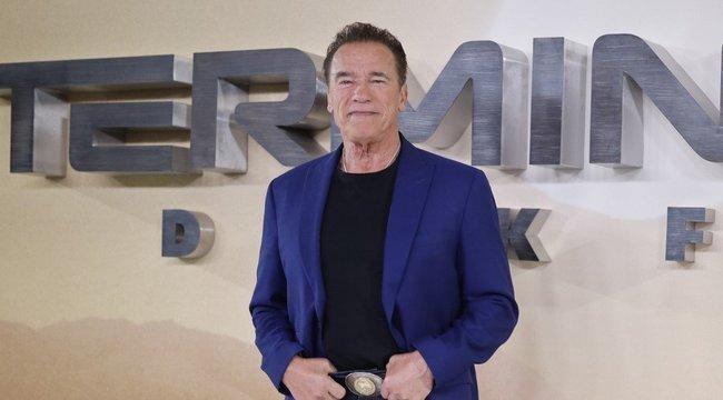Szamarával gyúr Arnold Schwarzenegger– videó