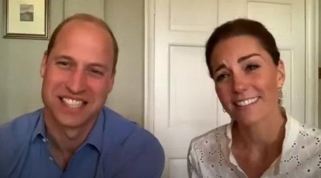 Segélyvonalak hívóival beszélgettitokban Katalin hercegné és Vilmos herceg