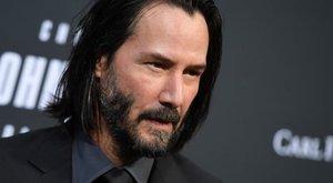 Igazi szent lélek – mondja dublőre Keanu Reevesről