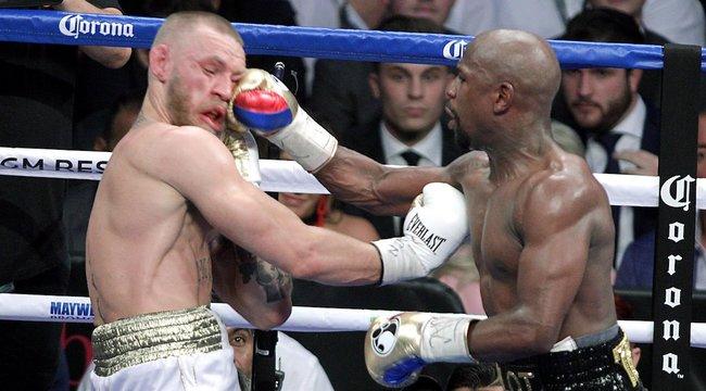 Mayweather ígéri, újra elkeni McGregor száját
