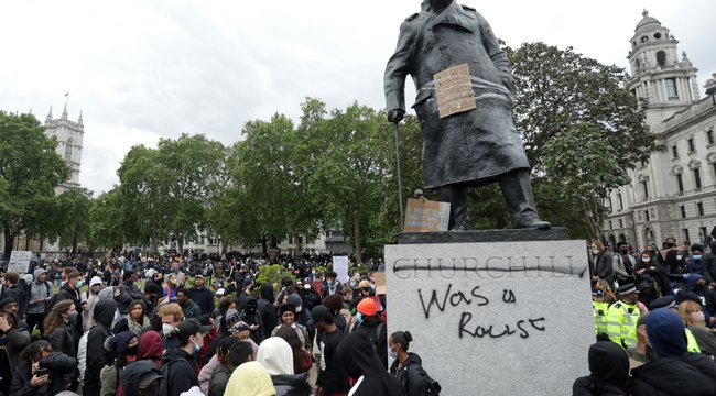 Veszélyben Churchill londoni szobra?