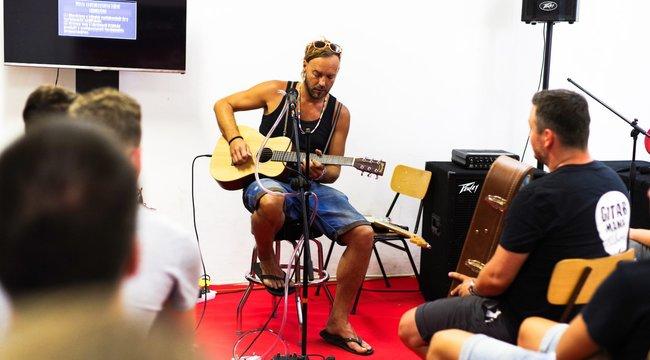 Neves zenészek tanítanak a Gitármánia Táborban