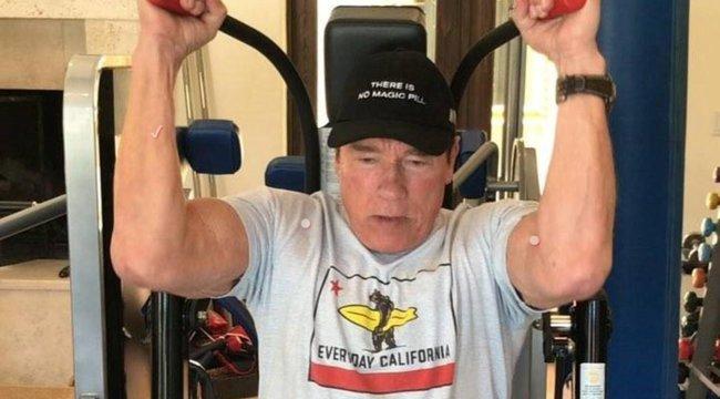 Arnold Schwarzenegger:Hasta la vista edzőterem!