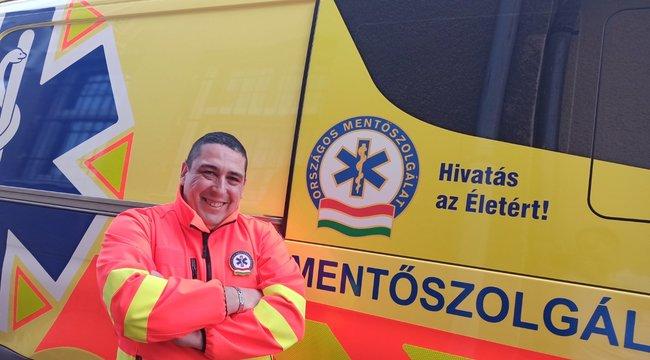 Civilben mentett életet a magyar mentőtechnikus