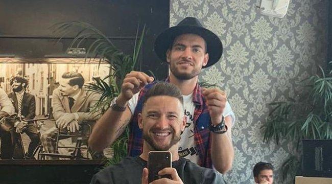 Szoboszlai Dominik választotta ki Shane Tusup új frizuráját