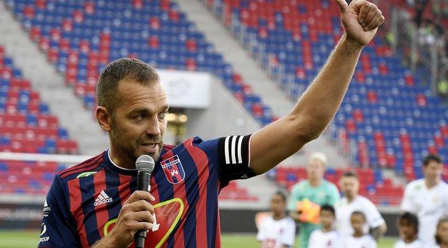 Fradi-verő góllal búcsúzott a fehérvári szurkolóktól Juhász Roland