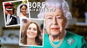 Bors-kvíz: Mennyire ismeri a brit királyi család titkait?