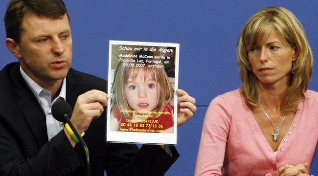 Maddie McCann-nyomozás: Kutyatetem mellől került elő a perdöntő bizonyíték