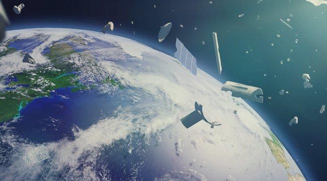 Napi tudomány –Habbal gyűjtik be az űrszemetet