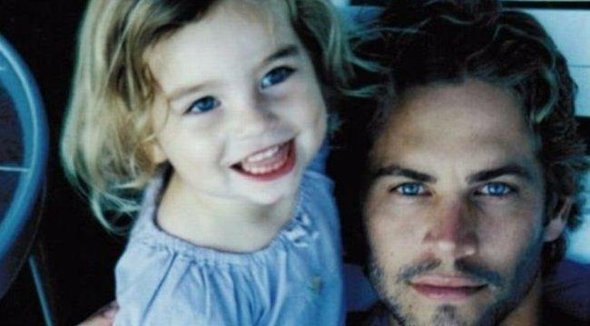 Család, mindörökké - megható fotót tett közzé a hét éve autóbalesetben meghalt Paul Walker lánya