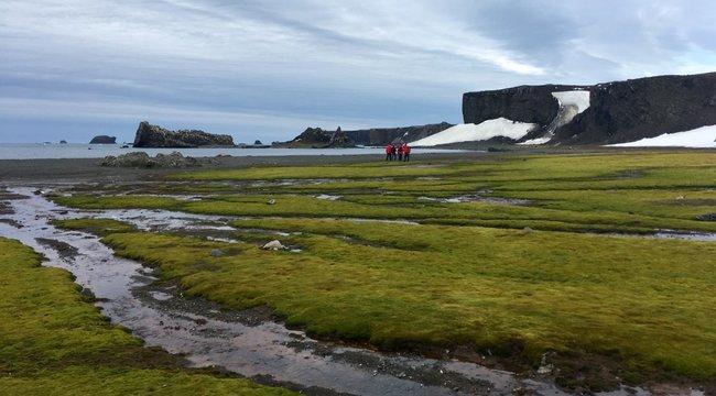 Két hétig jégensátorozott az Antarktiszon a debreceni professzor
