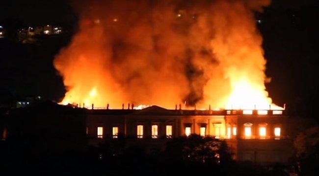Nem hanyagságból égett le a brazil nemzeti múzeum a rendőrségi vizsgálat szerint