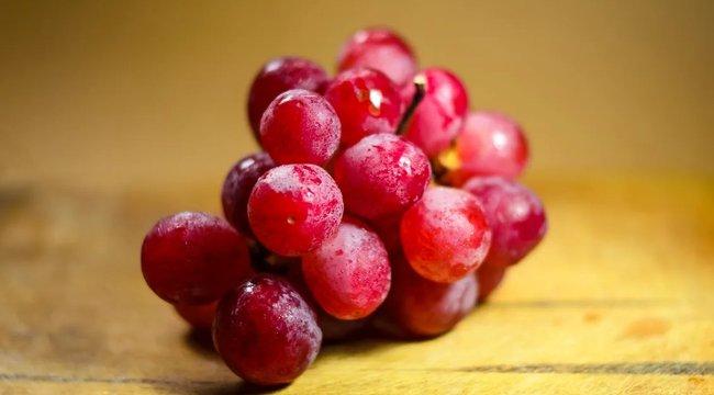 Négymillióért kelt egy fürt vörös szőlő Japánban