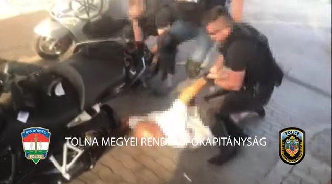 Több mint 100 rendőr 11 helyszínen csapott le a tolnai drogbandára – fotók, videó