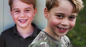 Repül az idő! Ma hétéves György herceg, új, cuki fotók érkeztek róla