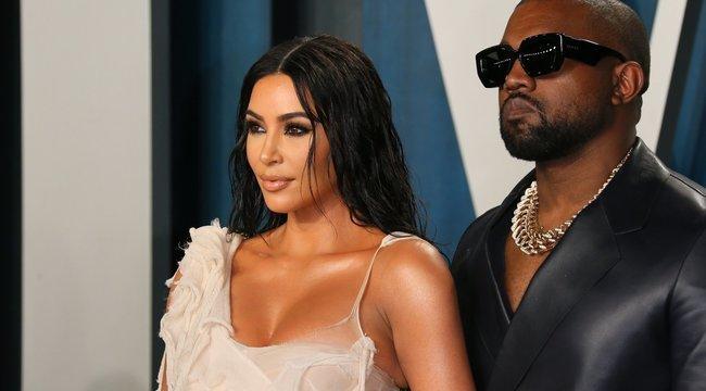 Két éve próbál elválni Kim Kardashiantól Kanye West: a celebnő megcsalta