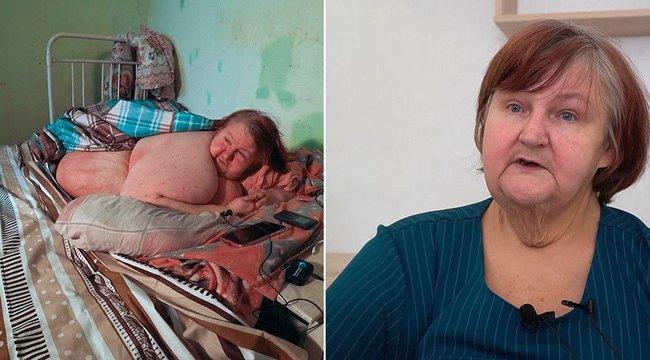 Hiába fogyott 200 kilót, fiának elege lett belőle – elhunyt Oroszország legkövérebb asszonya