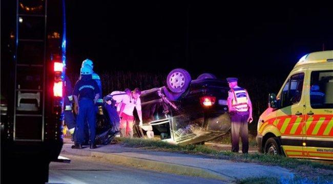 Halálos baleset történt az 54-es úton Bócsánál – fotók